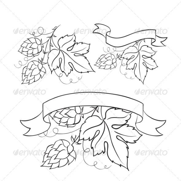 Beer Emblems - Tattoos Vectors