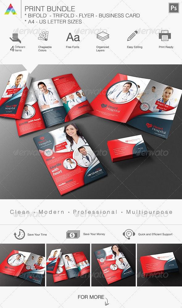 Print Bundle - Brochures Print Templates