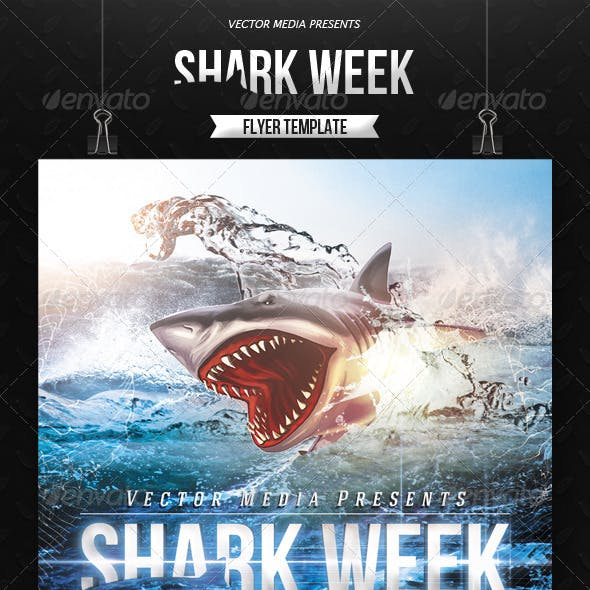 Shark Week - Flyer