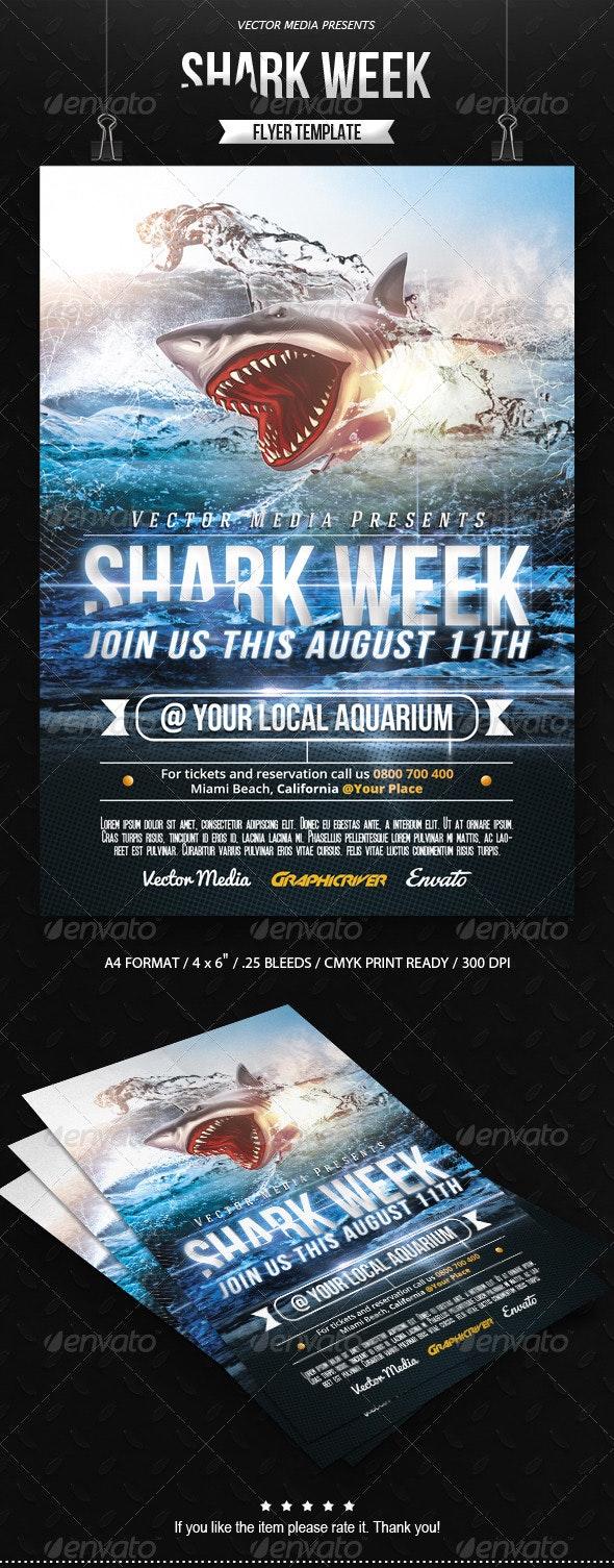 Shark Week - Flyer - Miscellaneous Events