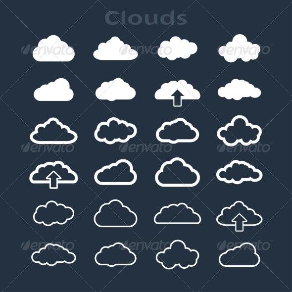 Set of Clouds - Web Technology