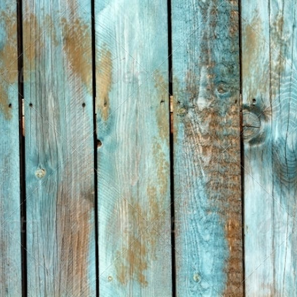 Blue Wood Texture