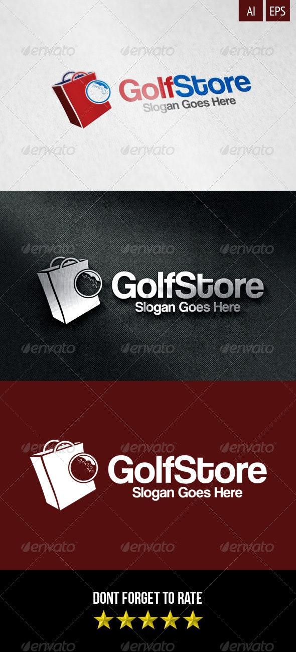 Golf Store Logo - Objects Logo Templates