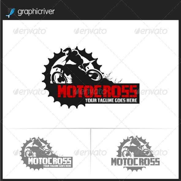 Motocross Logo Templates