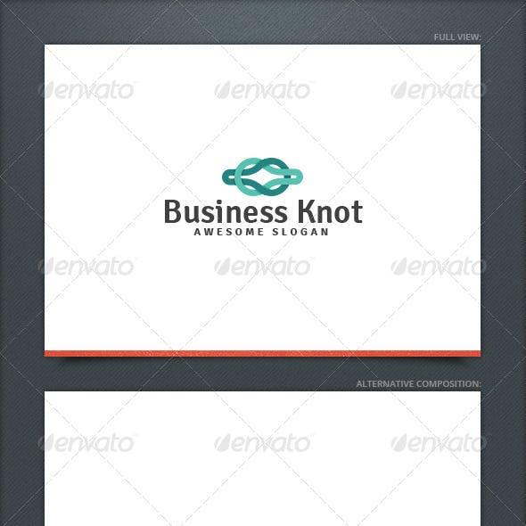 Business Knot Logo Template