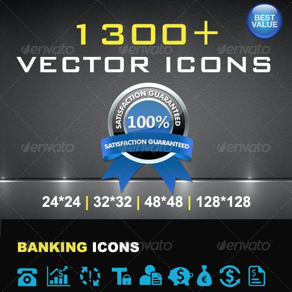 1300+ Vector Icons