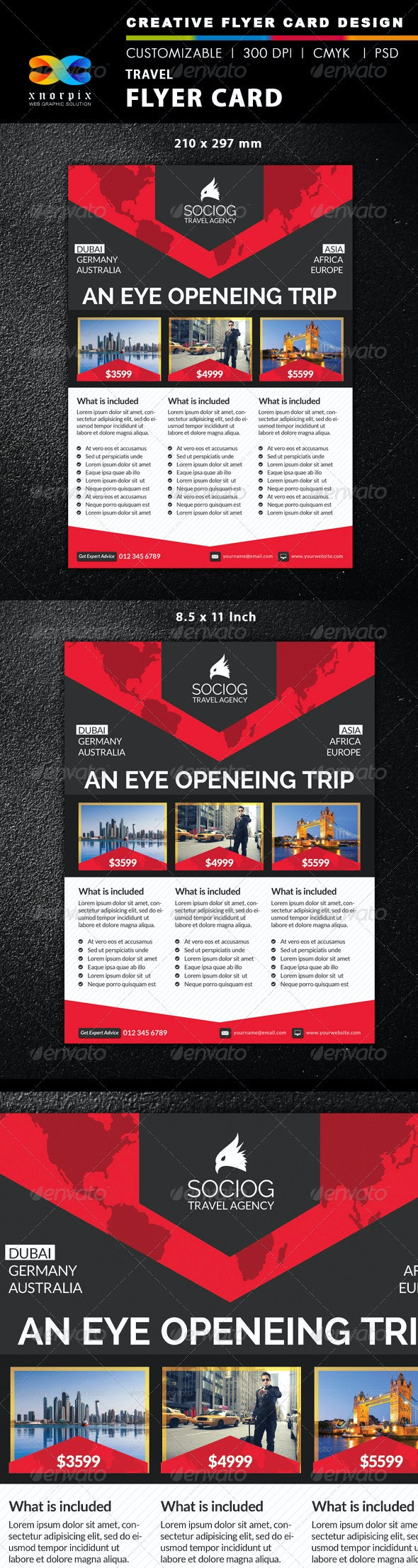 Travel Flyer - Corporate Flyers