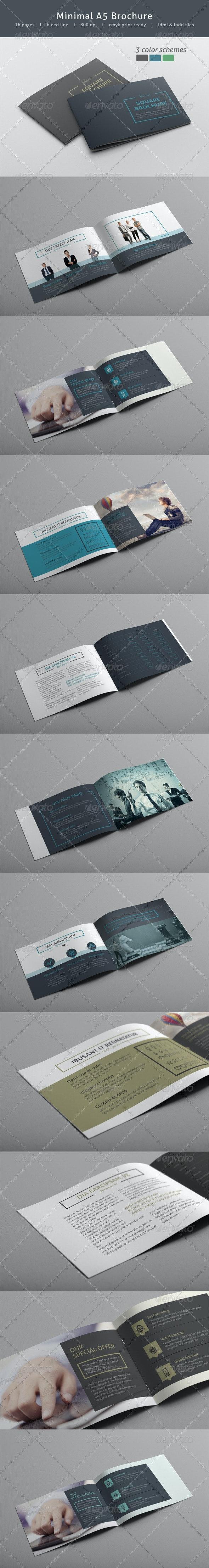 Minimal A5 Brochure - Informational Brochures