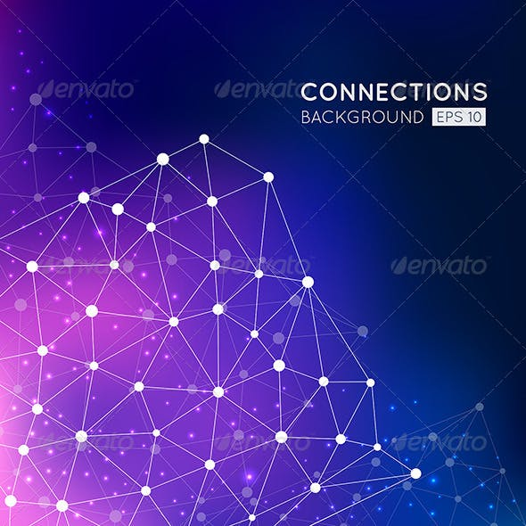 Abstract Connection Points Background