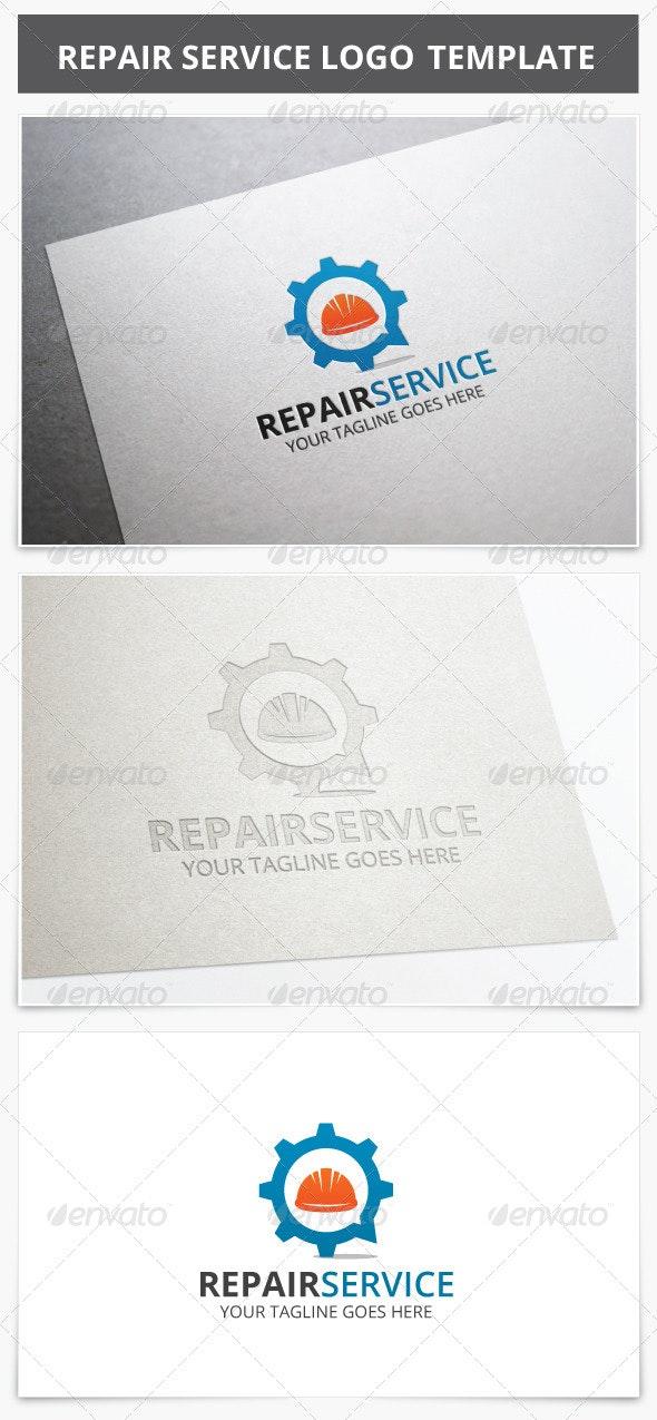 Repair Service Logo - Vector Abstract