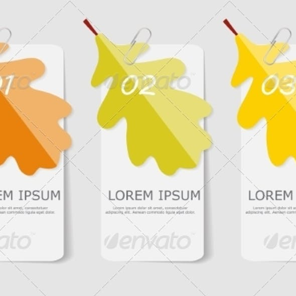 Autumn Leaves Infographic Templates for Business