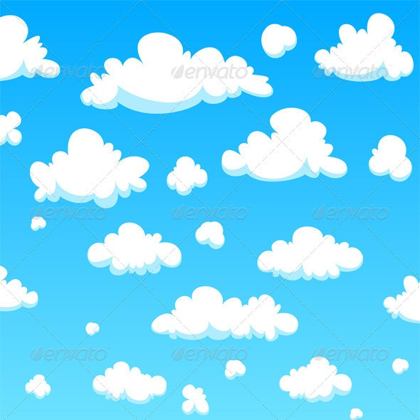 Cartoon Clouds - Nature Conceptual