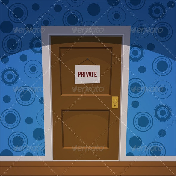Private Room - Objects Vectors
