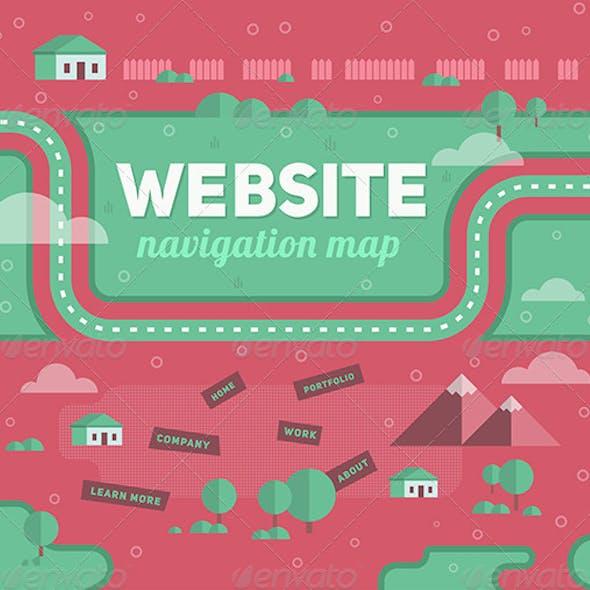 Navigation Map of Website