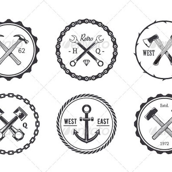 Circle Crafts Emblems