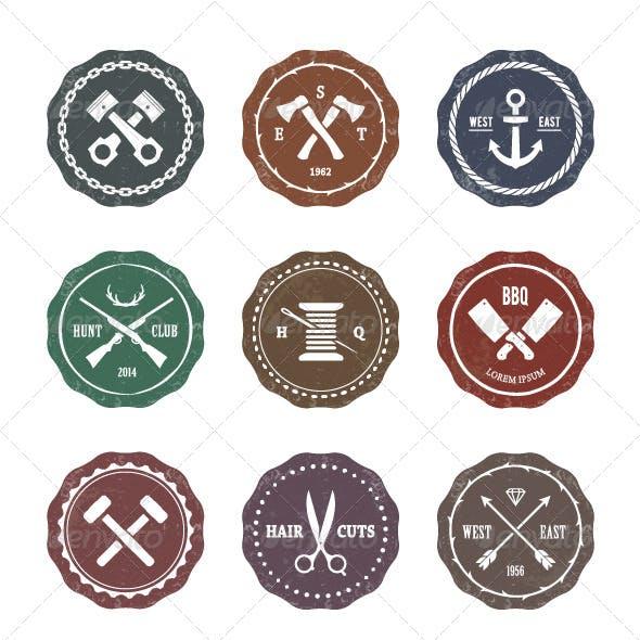 Crafts Emblems Set