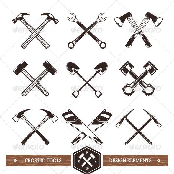 Crossed Work Tools