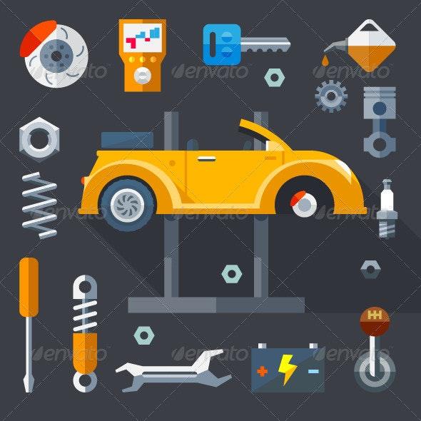 Repair Equipment - Vectors