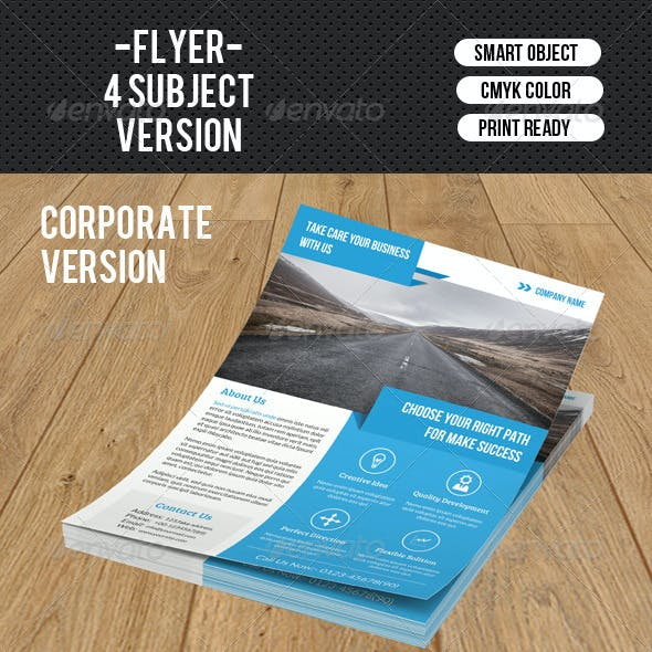 Corporate Flyer Template-V108