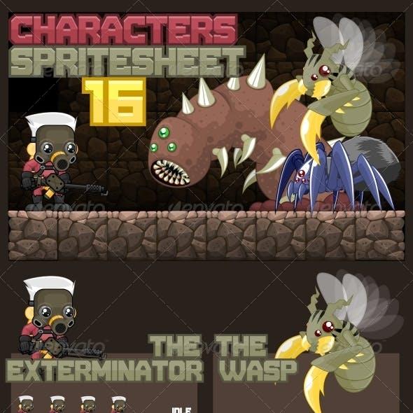 Characters Spritesheet 16