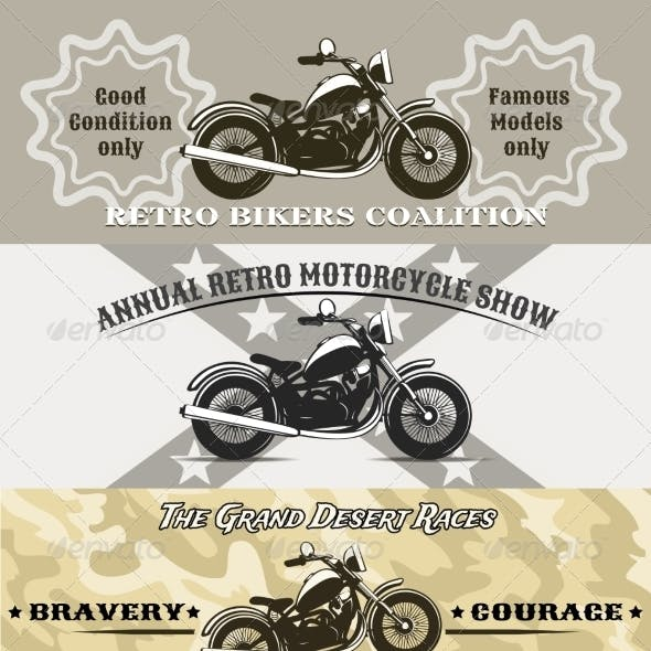 Motorcycle Banners