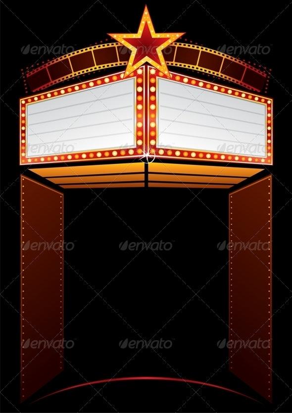 Movie Premiere - Backgrounds Decorative