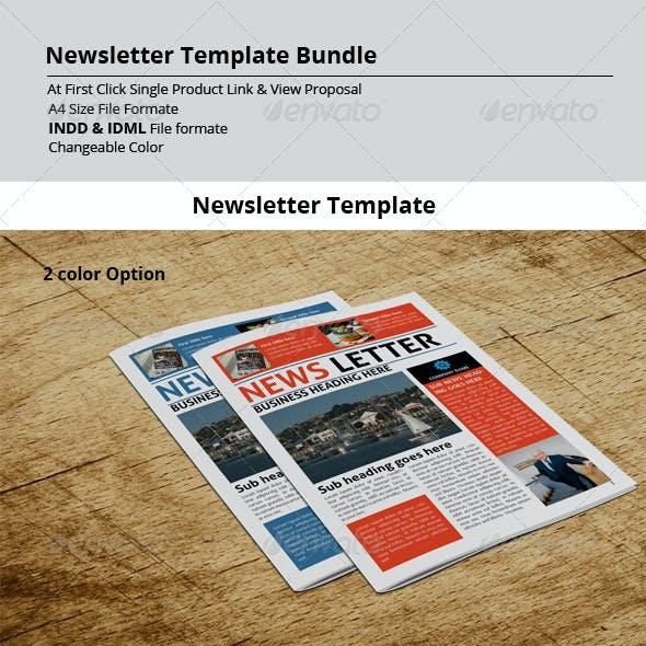 Newsletter Template Bundle