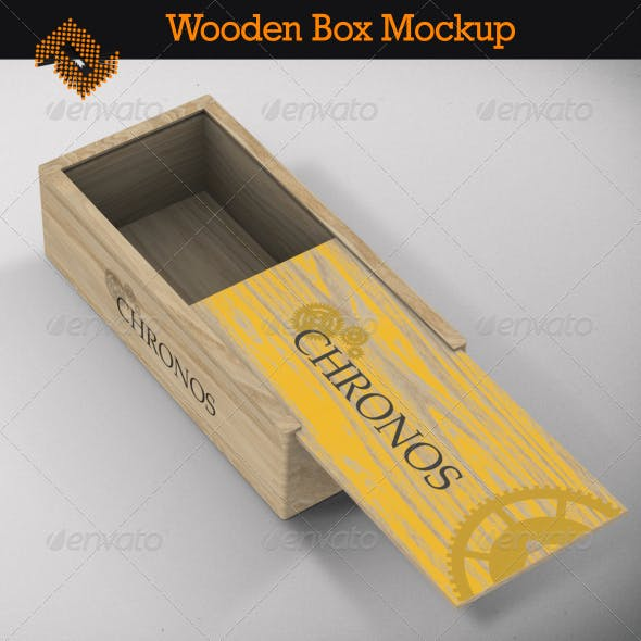 Wooden Box Graphics Designs