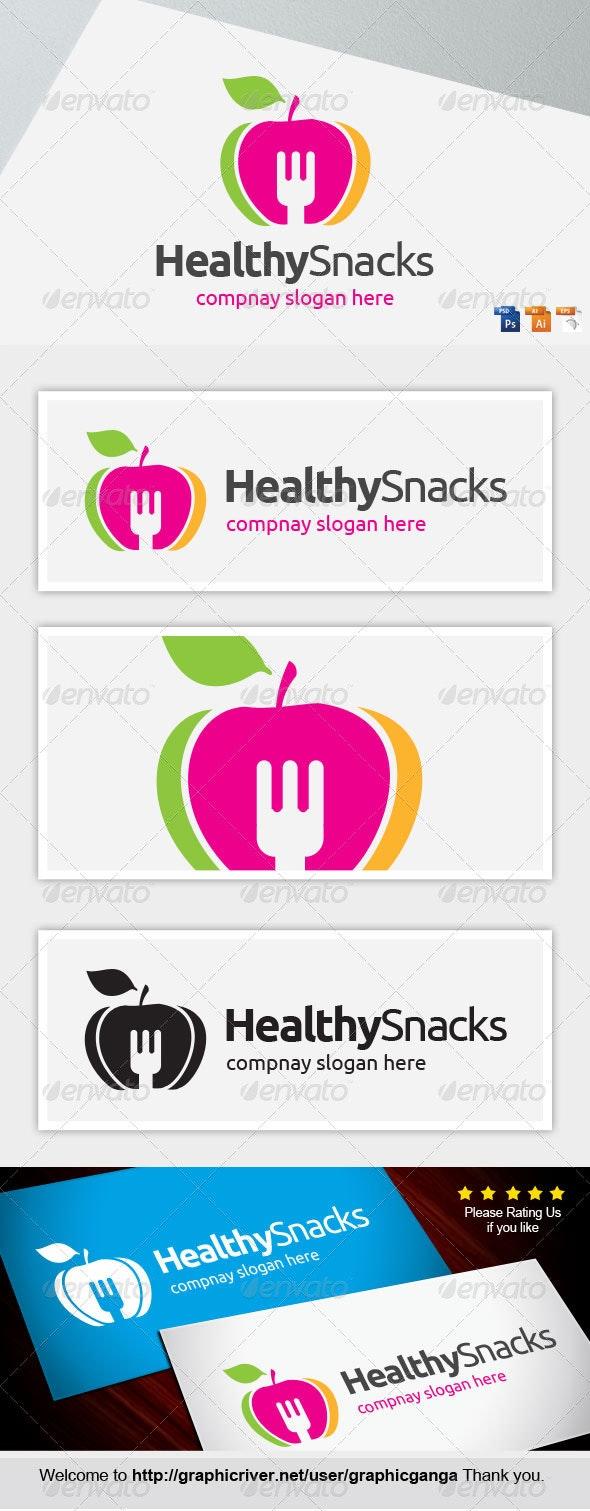 HealthySnacks. - Abstract Logo Templates