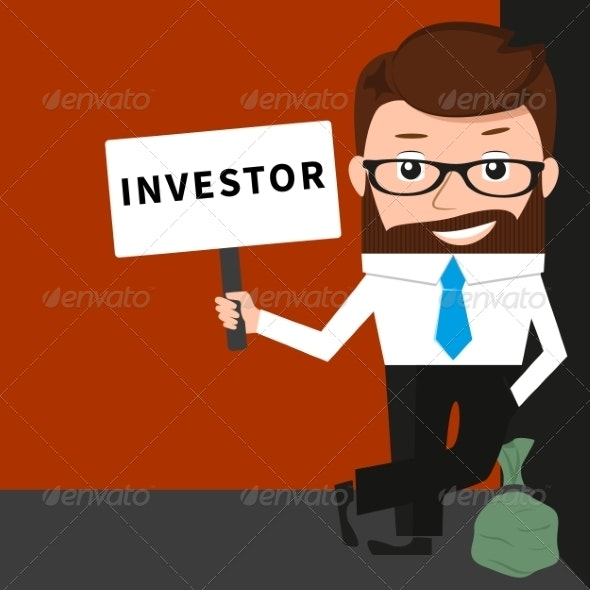 Businessman as Investor - Concepts Business