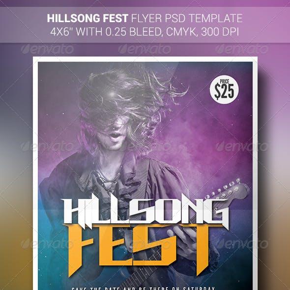 Hillsong Fest   Flyer