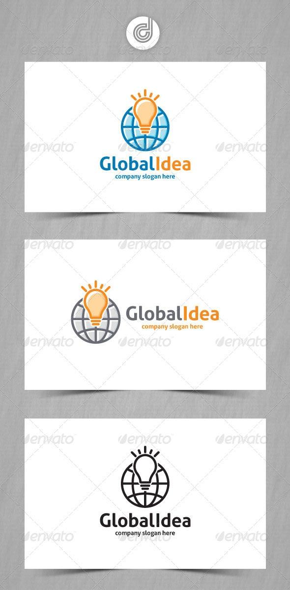 Global Idea - Objects Logo Templates