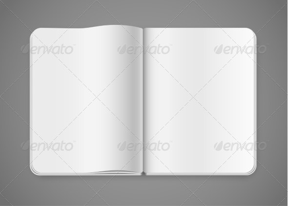 Notepad Template - Man-made Objects Objects