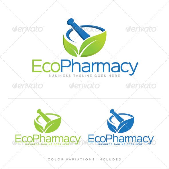 Dispensary Logo Templates from GraphicRiver