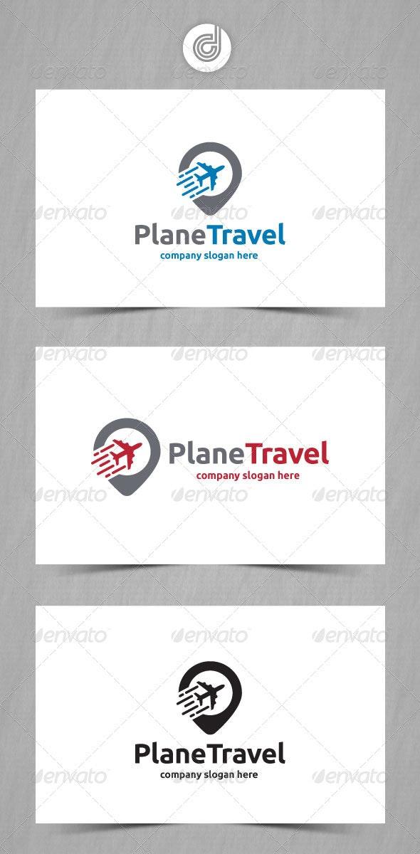 Plane Travel - Objects Logo Templates