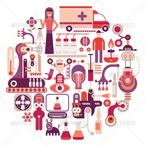 Pharmaceutical Factory - Industries Business
