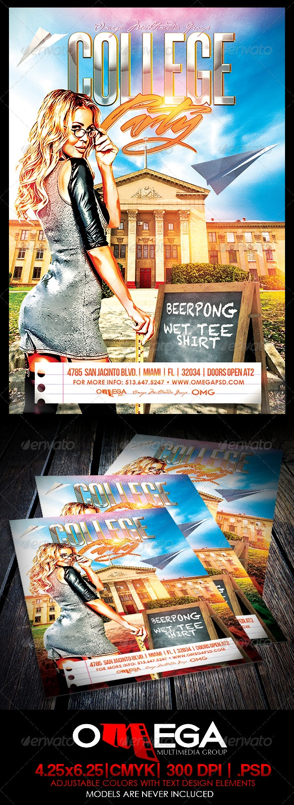 College Party - Events Flyers