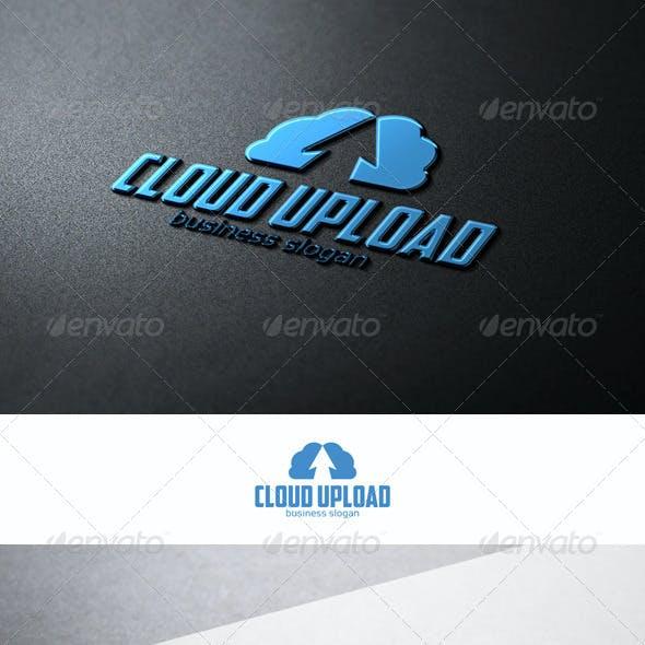 Cloud Up - Upload Hosting Logo