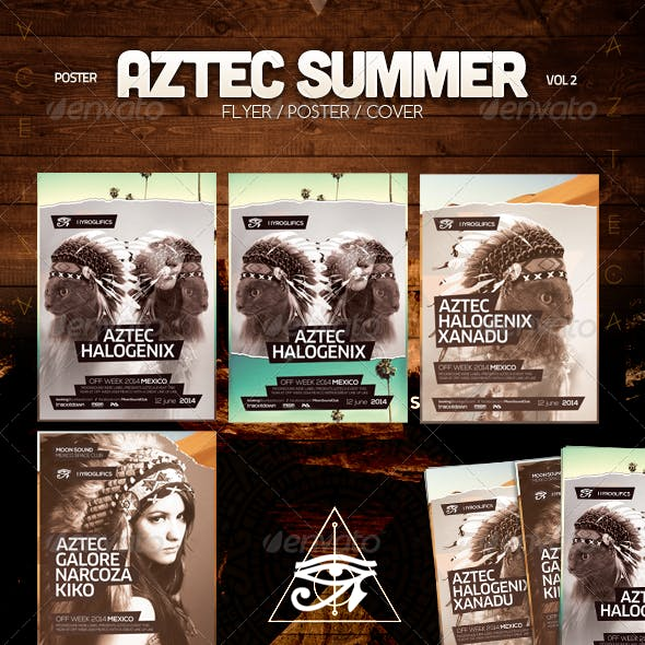 Aztec Summer Flyer