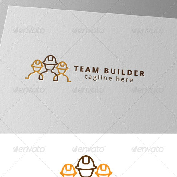 Team Construction and Builder Logo