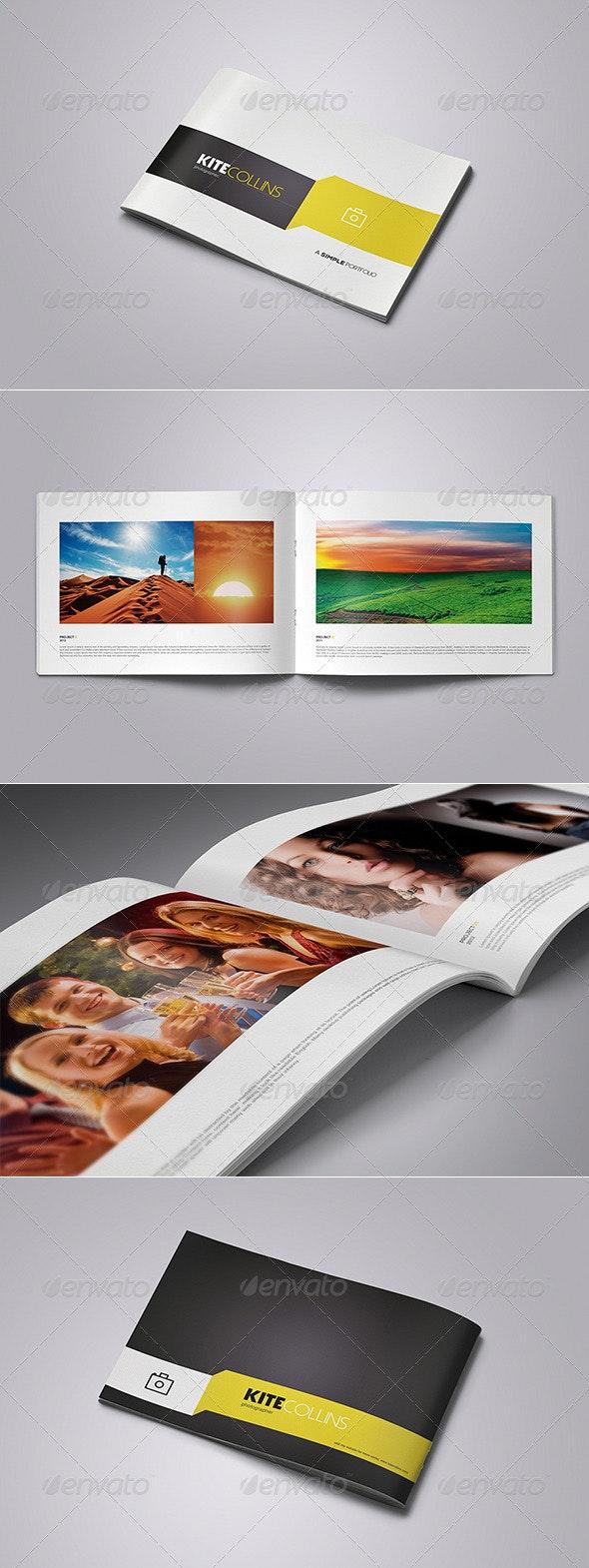 Simple Portfolio Brochure - Portfolio Brochures