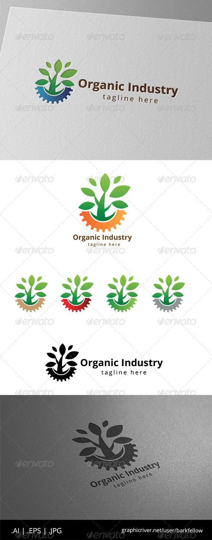Green Organic Industry Logo