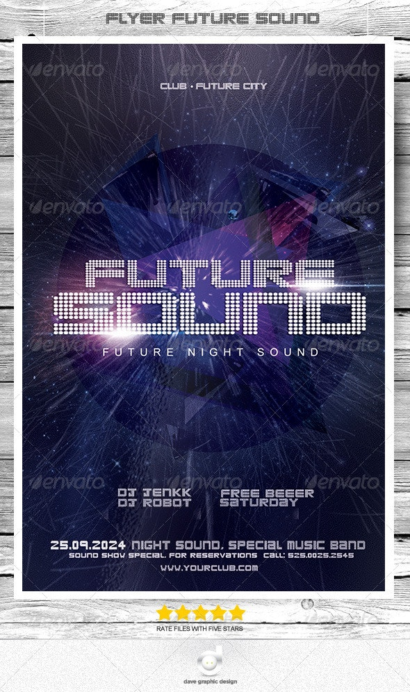Flyer Future Sound Night - Clubs & Parties Events