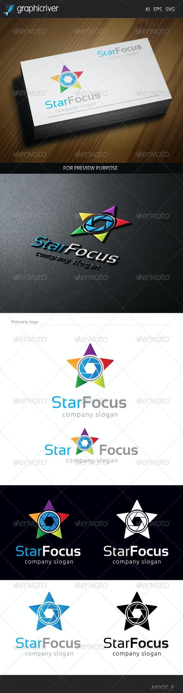 Star Focus Logo - Symbols Logo Templates