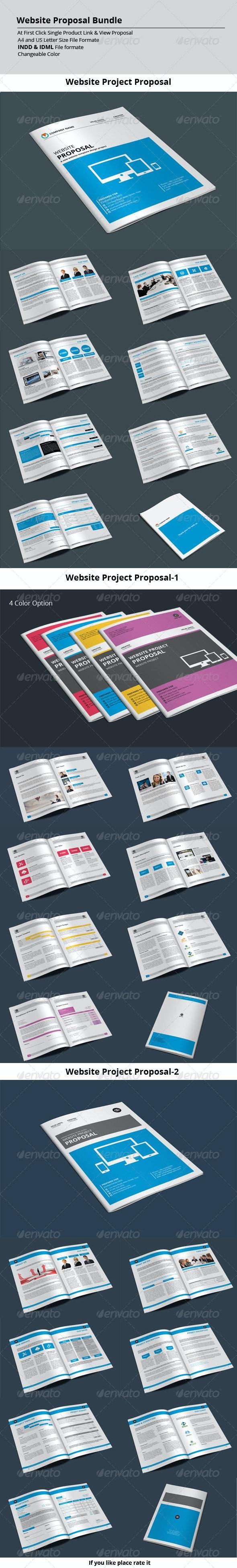 Website Proposal Bundle - Proposals & Invoices Stationery