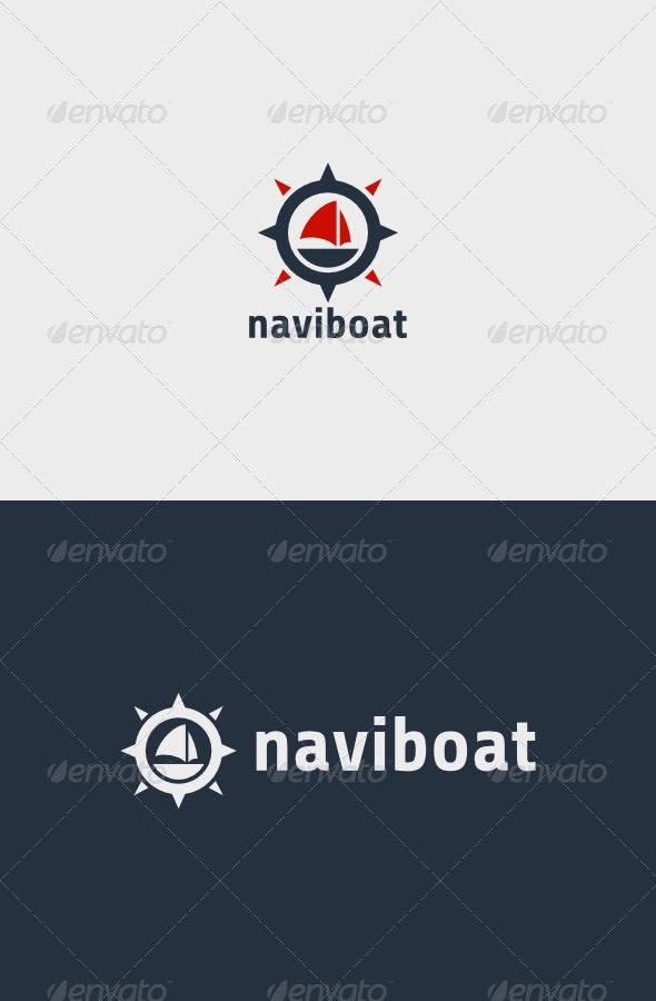 Navigation Boat Logo - Objects Logo Templates