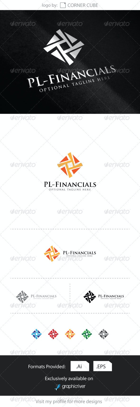 PL-Financials Logo	 - Logo Templates