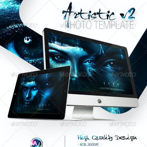 Artistic Photo Template V2