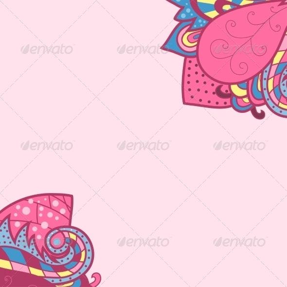 Decorative Element Corners - Backgrounds Decorative