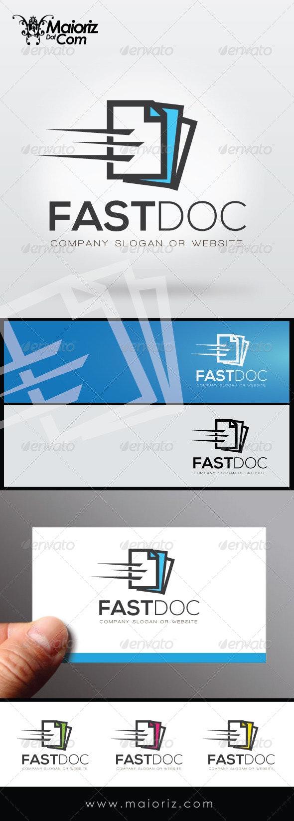 Fast Doc Logo Template
